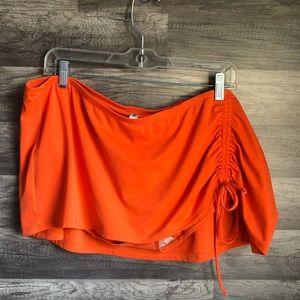Cacique Orange Swim Skirt Size 20